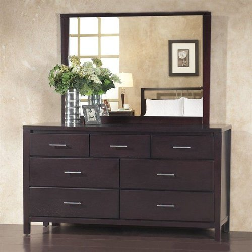 Modus Furniture Nevis Dresser & Mirror Set