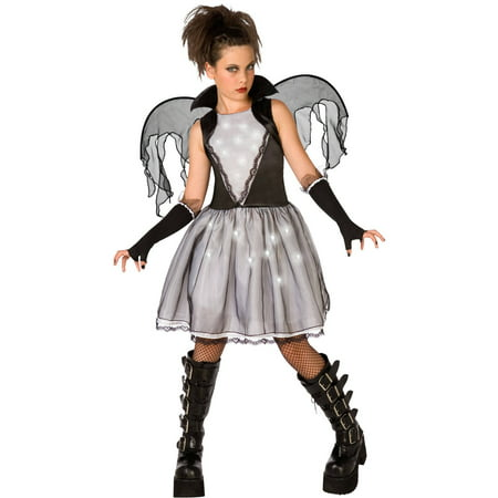 Dark Angel Child Halloween Dress Up / Role Play Costume (Dachshunds Dressed Up For Halloween)