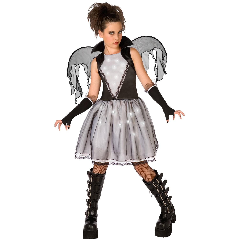 Dark Angel Child Halloween Dress Up / Role Play Costume