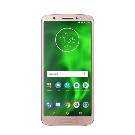Motorola Moto G6 32GB Unlocked Smartphone Oyster Blush Dual Band Unlocked Phone