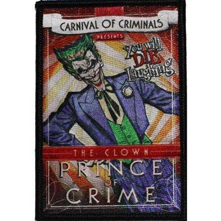 Patch - DC Comic - Batman - Joker Iron On Gifts Toys New p-dc-0079 - image 1 de 1