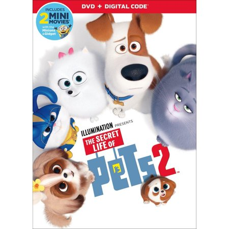 The Secret Life of Pets 2 (DVD) (The Movie Life)