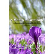 A Month of Gratitude - eBook