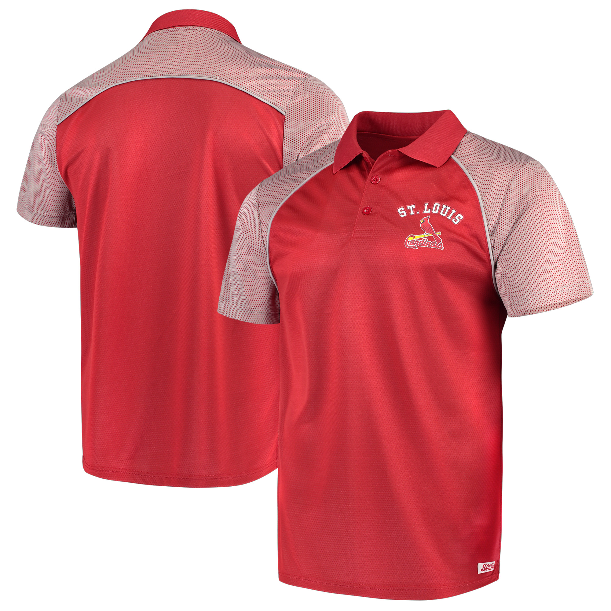 St. Louis Cardinals Stitches Domestic Polo - Red
