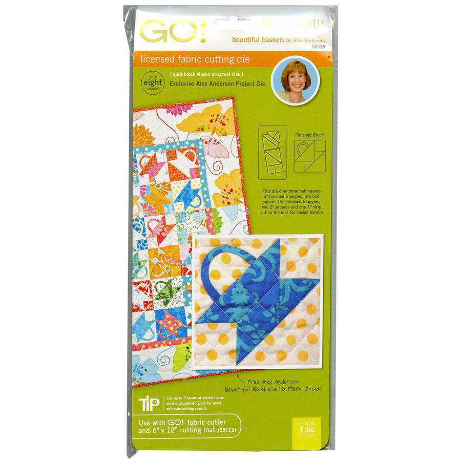 Go! Fabric Cutting Dies, Bountiful Basket