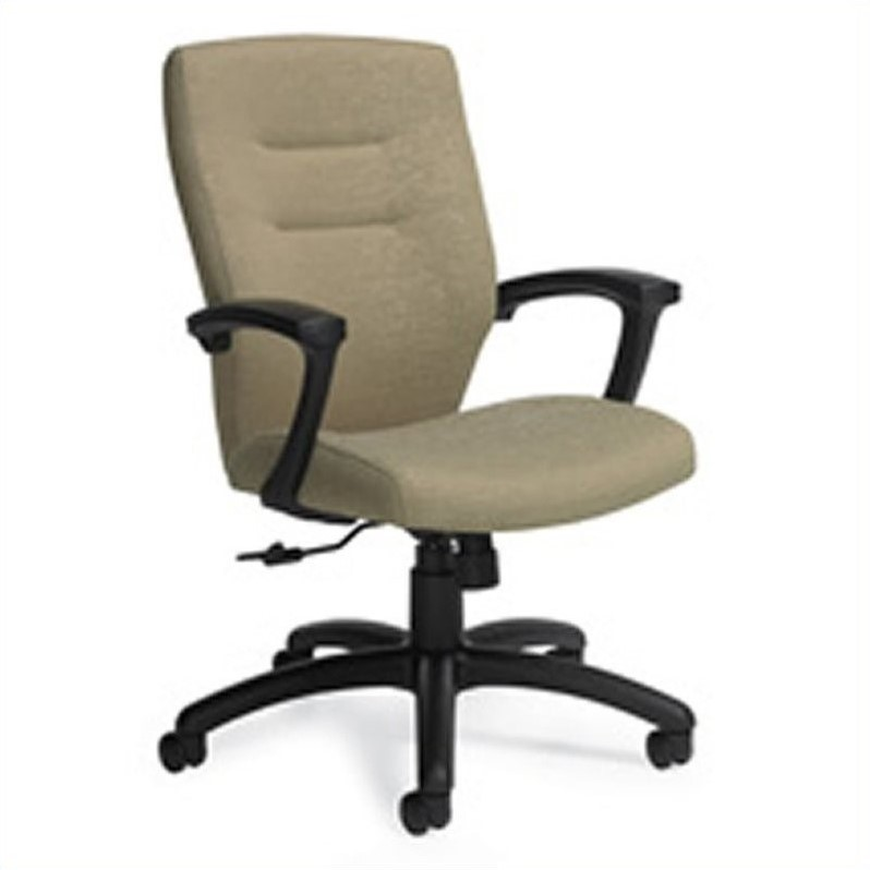 Global Synopsis Medium Back Tilter Office Chair in Beach Day