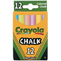 Crayola Chalk, Colored
