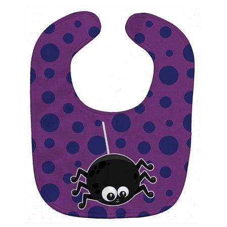 Halloween Spider Baby Bib - Bong Bay Halloween