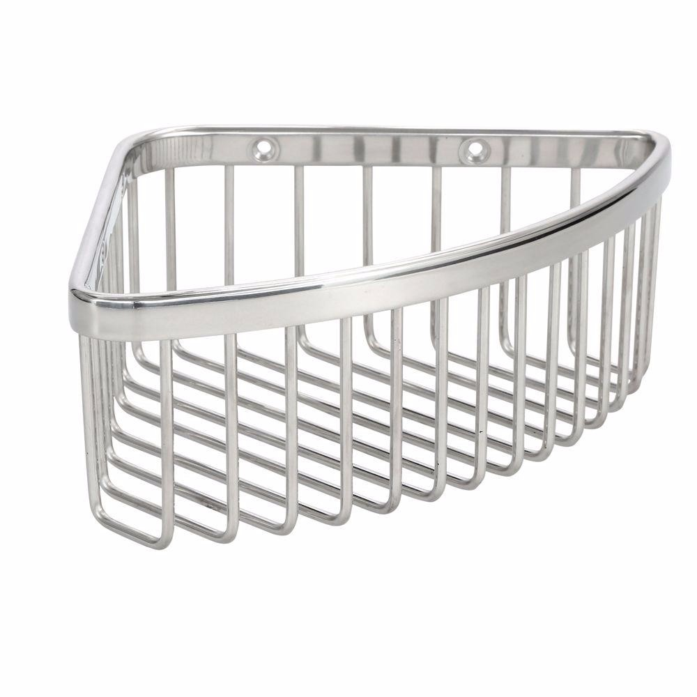 KH K-1896-SMedium Shower Basket in Polished Stainless