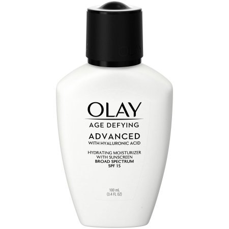Olay Age Defying ADVANCED with Hyaluronic Acid Hydrating Moisturizer with SPF 15,