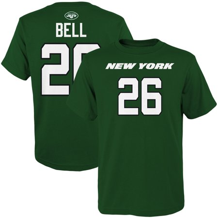 Le'Veon Bell New York Jets Youth Mainliner Name & Number T-Shirt - Green