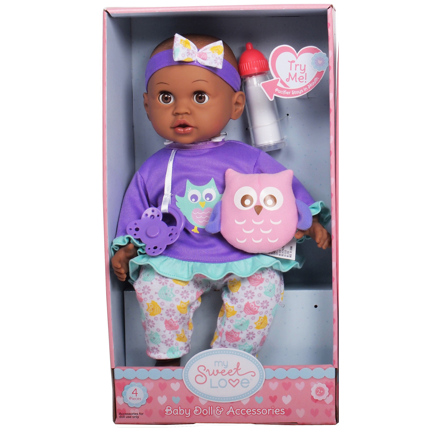 My Sweet Love® Baby Doll & Pacifier
