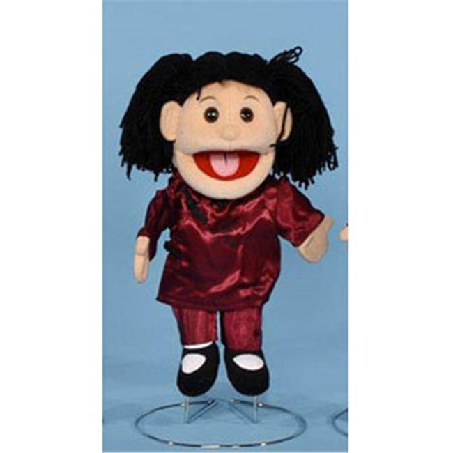 sunny toys gl1571 14 in. oriental girl, glove puppet