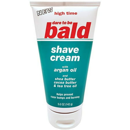 Bald Bull - High Time Dare To Be Bald Shave Cream  5 oz