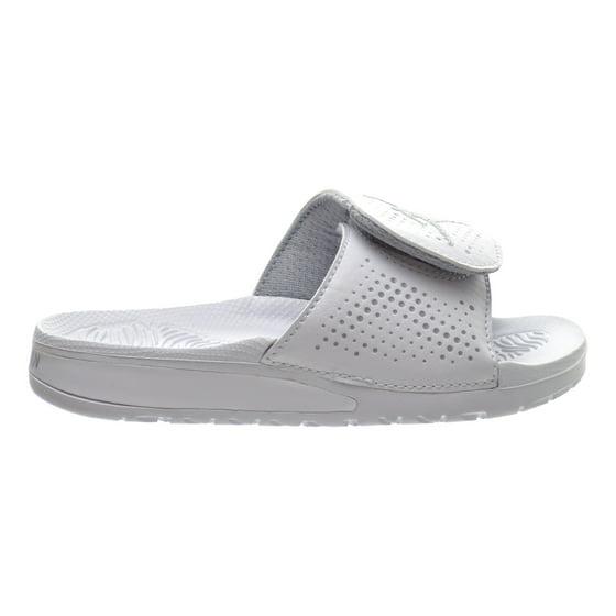 0075a2154276d3 Jordan - Jordan Hydro 5 BP Little Kids Sandals White Wolf Grey ...