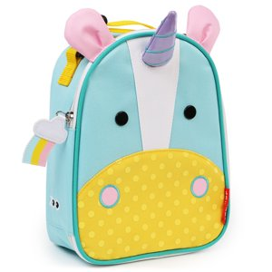 Skip Hop Zoo Lunchie Insulated Lunch Bag, Unicorn