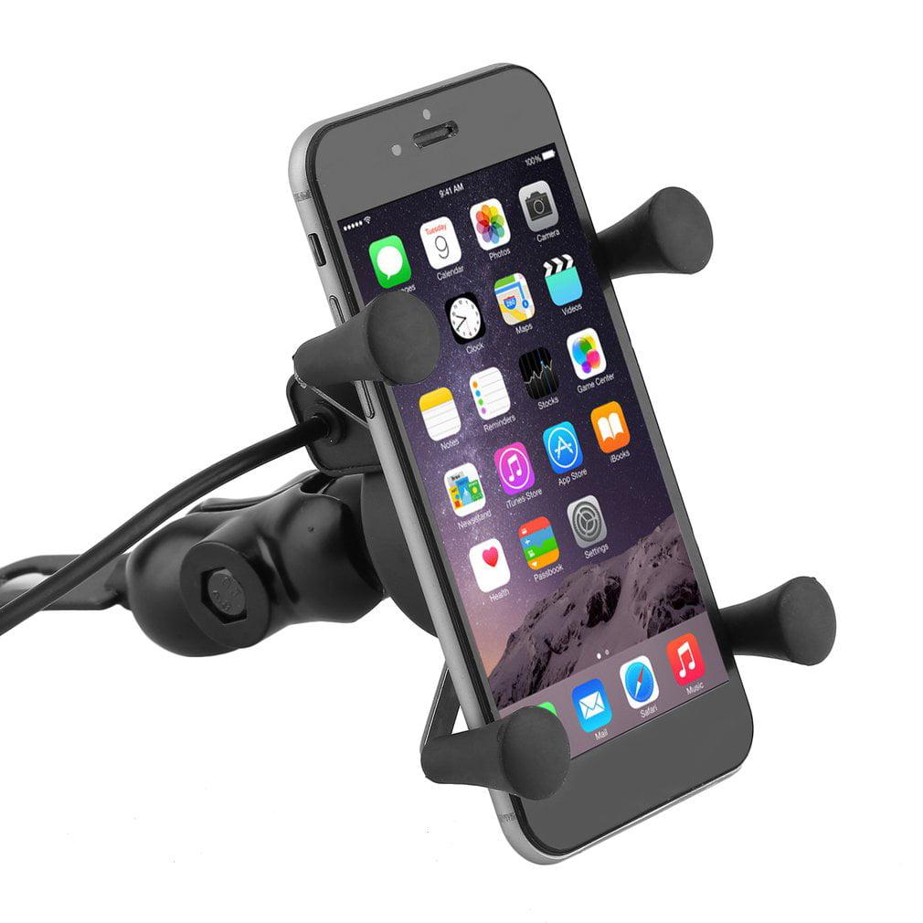 Moto Mount Holder Bracket For Gadget Ipad Dvd Portable 7 9 13 Inc Source · Universal Motorcycle Mount Cars Phone Holder GPS Bracket USB Charger Walmart com