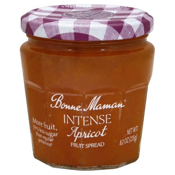 Bonne Maman Fruit Spread - Apricot Fruit Spread - Case Of 6 - 8.2 Oz.