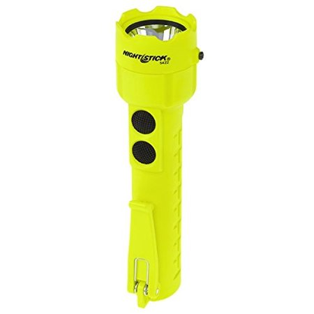 Nightstick XPP-5422G 3 AA Intrinsically Safe Permissible Dual-Light Flashlight, Green](Safelight Flashlight)