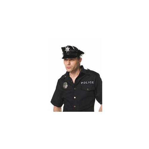 Mens Cop Hat - Adult Hat