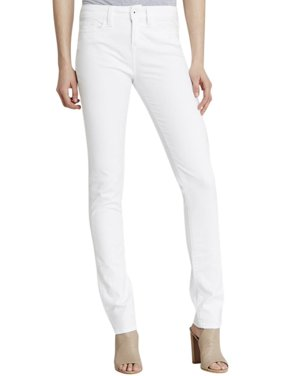 Yummie Womens Mid-Rise Denim Straight Leg Jeans