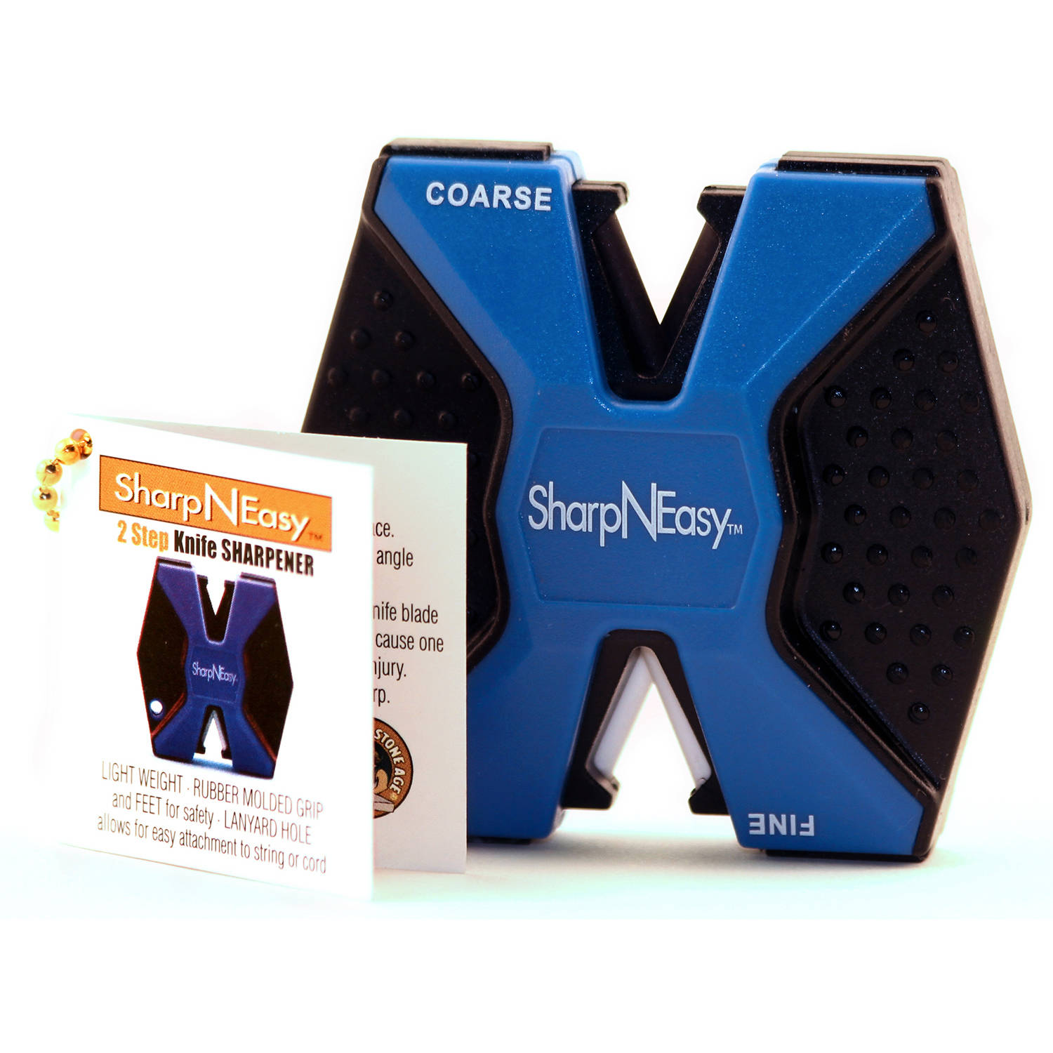 Fortune Products 334C Blue & Black Sharp-N-Easy Knife Sharpener