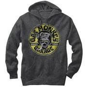 Gas Monkey Logo Circle Mens Graphic Lightweight Hoodie
