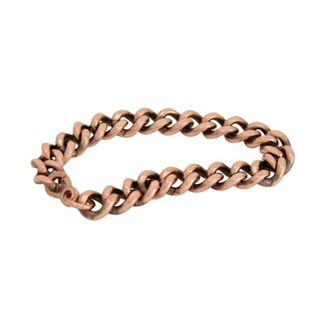Apex Copper Bracelet, Wide Link Size, 9""