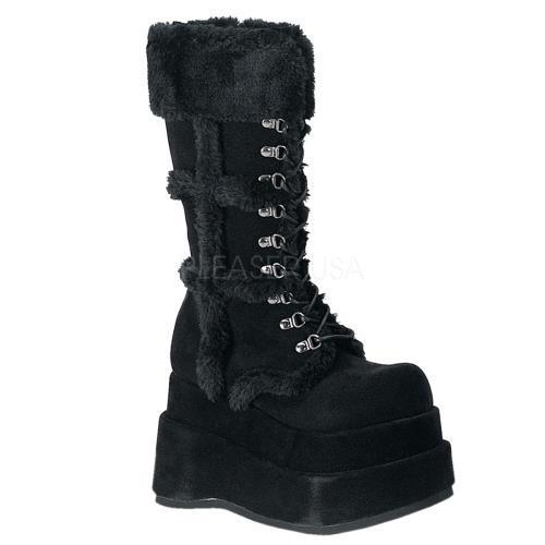 Click here to buy BEAR202 B PU Demonia Vegan Boots Womens BLACK Size: 12.