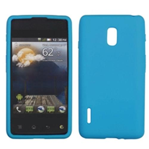 Insten Solid Skin Case (Tropical Teal Green) for LG: US780 (Optimus F7), LG870 (Optimus F7)