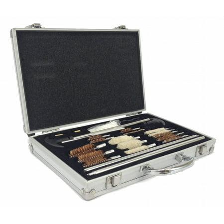Deluxe Shotgun Cleaning Kit (78pc gun cleaning kit universal pistol rifle shotgun deluxe aluminum case)