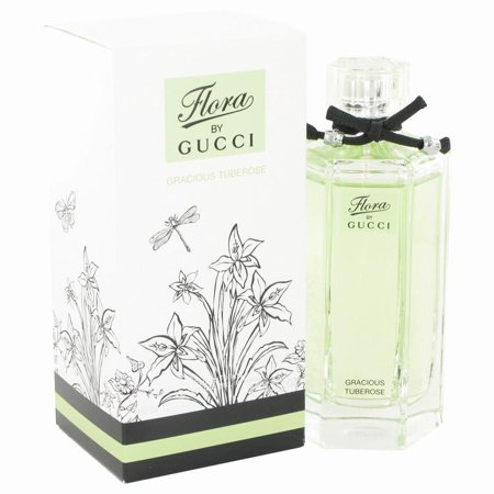 Flora Gracious Tuberose by Gucci Eau De Toilette Spray 3.3 oz