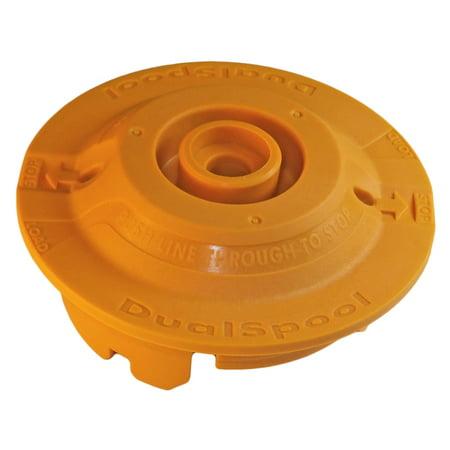 Dual Line Trimmer Head - Ryobi RY26500 Trimmer Dual Spool Fixed Line String Head Insert # 310734001
