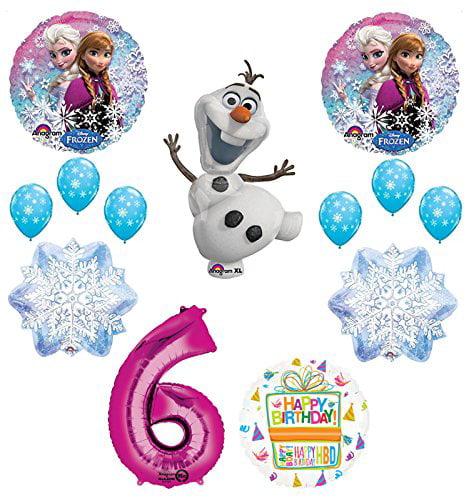 1 X FROZEN OLAF  PERSONALISED BIRTHDAY DOOR BANNER
