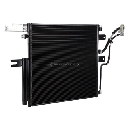 A/C AC Air Conditioning Condenser For Dodge Ram 2500 & 4500 2010 2011