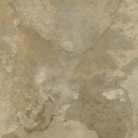 Faux Marble Flooring (Achim Nexus Light Slate Marble 12x12 Self Adhesive Vinyl Floor Tile - 20 Tiles/20 sq. ft.)