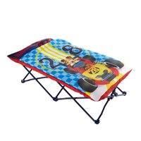 Disney Mickey Mouse Portable Folding Bed Toddler Cot with Sleeping Bag