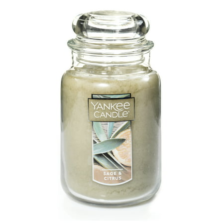 Yankee Candle Sage & Citrus - Original Large Jar Scented Candle