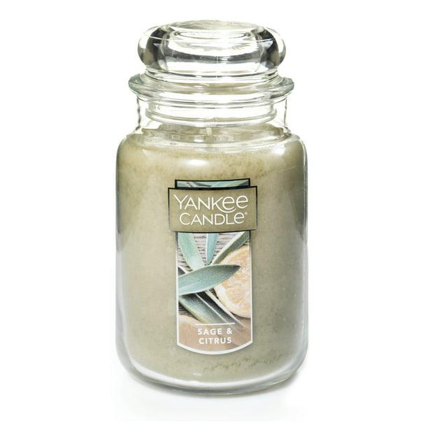 Yankee Candle Sage Citrus Original Large Jar Scented Candle Walmart Com Walmart Com