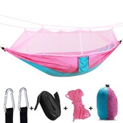 Tuscom Gifts about sports,Outdoor Camping Double Green Sky Tent Hammocks With Mosquito Net