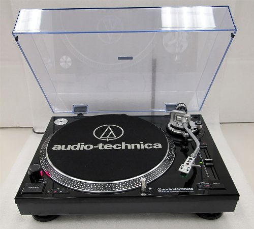 Audio-technica Direct-drive Professional Turntable [usb & Analog] Direct Drive Manual 33.33, 45, 78 Rpm Black... by Audio-Technica