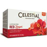 Red Zinger Tea Celestial Seasonings 20 Bag