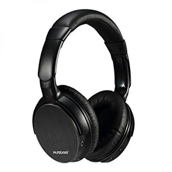 Ausdom Wireless Bluetooth EDR Over Ear Headphones Lightwe...