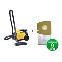 Eureka Mighty Mite Bagged Canister Vacuum, Model 3670G with Bags