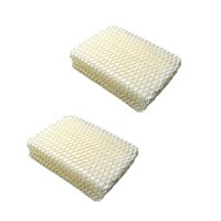 HQRP 2pack Humidifier Wick Filter for ProCare AC813 PCWF813 PCCM-832N Cool Mist Humidifier, PCWF813-24 Replacement + HQRP Coaster