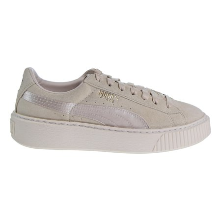 Goldfish Platform Shoes (Puma Platform Mono Satin Women's Sneakers Pink Tint/White/Gold)