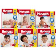 HUGGIES Snug & Dry ULTRA Diapers, Big Pack, (Choose Your Size)