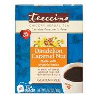 Dandelion Caramel Nut Chicory Herbal Tea 10ct