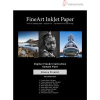 "Hahnemuhle Glossy FineArt Inkjet Paper Sample Pack, 13x19"", DIN A3+, 14 Sheets"