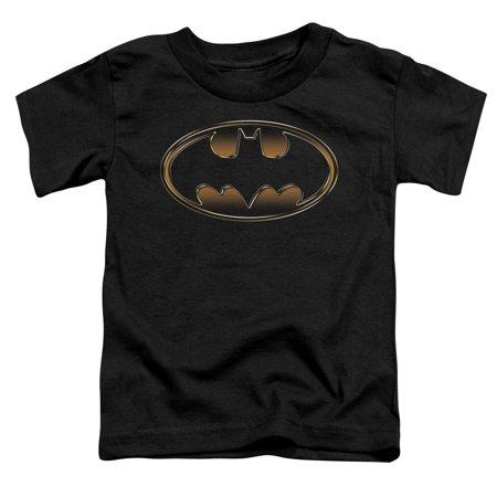 - Dark Knight Rises/Spray Bat   S/S Toddler Tee   Black      Bm1200